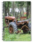 Grand Daddys Tractor Spiral Notebook