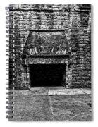 Grand Fireplace Spiral Notebook