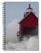 Grand Haven Lighthouse Spiral Notebook