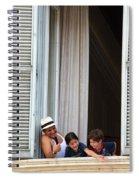 Grand Hotel Minerva Spiral Notebook