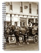 Grand Hotel Shuttle 10331 Spiral Notebook