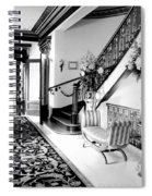 Grand Island Mansion Mosher Ranch 7 B And W Spiral Notebook