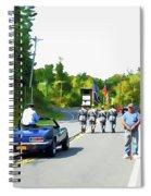 Grand Marshal Commissioner Frank Dovigh 3 Spiral Notebook