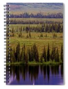 Grand Mountain Reflections Spiral Notebook