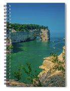 Grand Portal Point Spiral Notebook