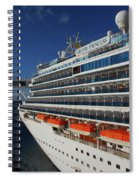 Grand Princess Spiral Notebook