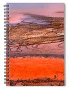 Grand Prismatic Algae Mat Panorama Spiral Notebook