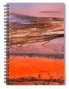 Grand Prismatic Panoramic Abstract Spiral Notebook
