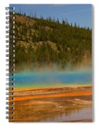 Grand Prismatic Pool Spiral Notebook
