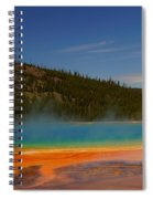 Grand Prismatic Pool II Spiral Notebook