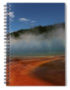 Grand Prismatic Spring At Yellowstone's Midway Geyser Basin Spiral Notebook