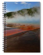 Grand Prismatic Spring Colors Spiral Notebook