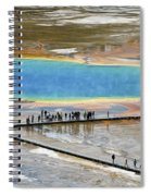 Grand Prismatic Spring Spiral Notebook