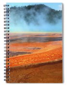 Grand Prismatic Spring, Yellowstone Spiral Notebook
