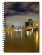 Grand Rapids At Night Spiral Notebook