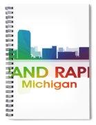 Grand Rapids Mi Spiral Notebook