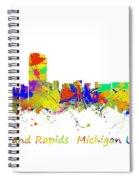 Grand Rapids  Michigan Usa Spiral Notebook