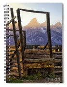 Grand Teton Framed Spiral Notebook