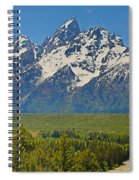 Grand Teton National Park And Snake River Spiral Notebook