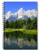 Grand Tetons 2 Horizontal Spiral Notebook