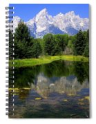 Grand Tetons 2 Spiral Notebook