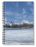 Grand Tetons And Snake River From Oxbow Bend Spiral Notebook