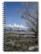 Grand Tetons From Gros Ventre Spiral Notebook