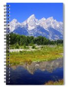 Grand Tetons Spiral Notebook