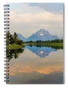 Grand Teton's Reflection Spiral Notebook