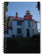 Grand Traverse Light House Spiral Notebook