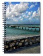 Grand Turk Pier Spiral Notebook