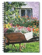Grandad's Wheelbarrow Spiral Notebook