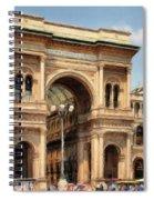 Grande Ingresso Spiral Notebook