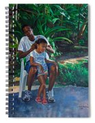 Grandfather And Child Spiral Notebook