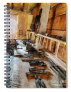 Grandfather's Tools Spiral Notebook