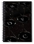 Grandfather's Word Processor Spiral Notebook