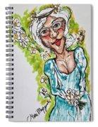 Grandma Hippie Spiral Notebook