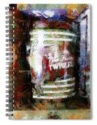 Grandma's Kitchen Tins Spiral Notebook