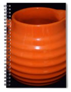 Grandmas Orange Juice Pitcher Spiral Notebook