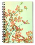 Grandma's Pink Dogwood Spiral Notebook