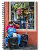 Grandpa Elliott Small Spiral Notebook