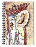 Grandpa Is Home Spiral Notebook