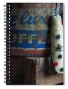 Old Fishing Lure Spiral Notebook
