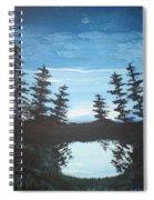 Grandpa's Piney Pond Spiral Notebook