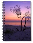 Grandview Beach Sunrise Spiral Notebook