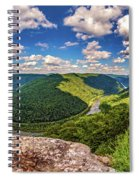 Grandview West Virginia Spiral Notebook