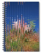 Granite And Sagurao Abstract Spiral Notebook