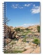 Granite Dells Rocky Terrain  Spiral Notebook