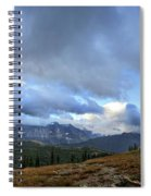 Granite Park Chalet - Glacier National Park Spiral Notebook