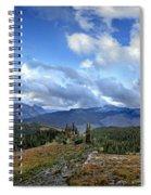 Granite Park - Glacier National Park Spiral Notebook